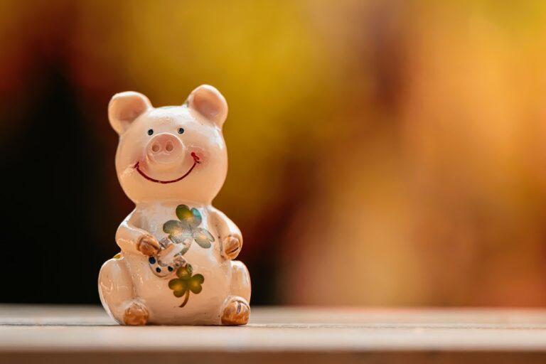 lucky pig, luck, lucky charm